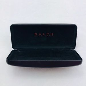 RALPH LAUREN Black Glasses Case
